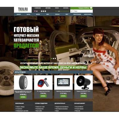 Автозапчасти интернет-магазин на продажу